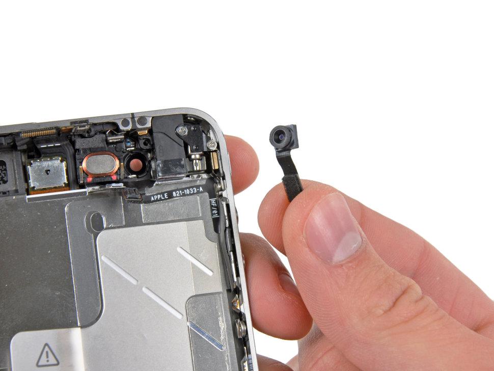 замена камеры iphone 4s