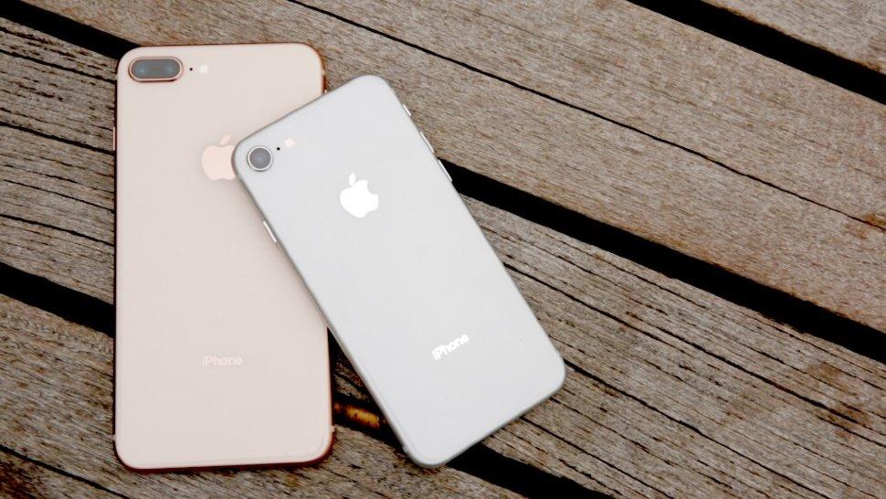 замена заднего стекла на iphone 8plus