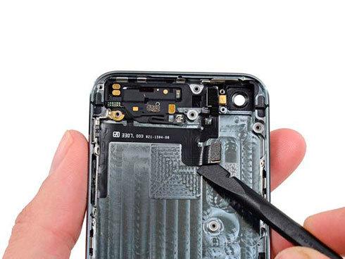 замена кнопки включения iphone 5